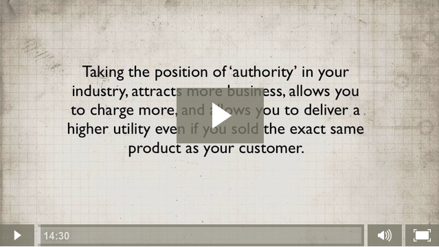 Module 2. Authority and Positioning